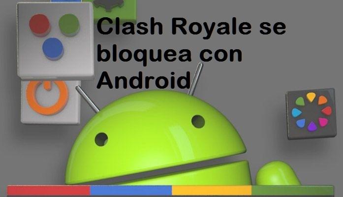 se bloquea con android imagen