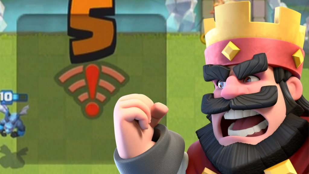 sin wifi clash royale
